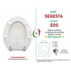 copy of Copriwater Sanremo Ideal Standard legno rivestito in resina poliestere bianco