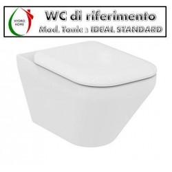 Copriwater Tonic 2 Ideal Standard termoindurente bianco