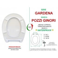 copy of Copriwater Fabia Sbordoni termoindurente bianco