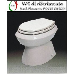 copy of Copriwater Gardena Pozzi Ginori termoindurente bianco