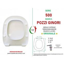 copy of Copriwater Join Pozzi Ginori termoindurente bianco Originale