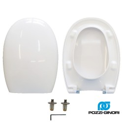 copy of Copriwater 500 Pozzi Ginori termoindurente bianco Soft Close Originale