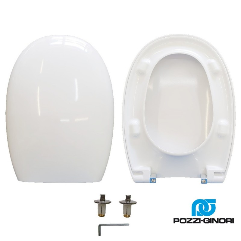 copy of Copriwater D-Code Duravit termoindurente bianco Soft Close Originale