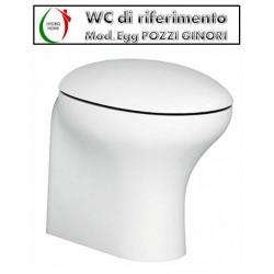 Copriwater Egg Pozzi Ginori termoindurente bianco