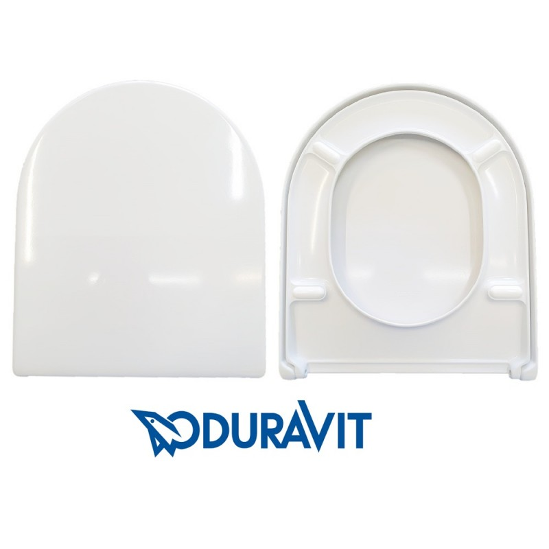 copy of Copriwater D-Code Duravit termoindurente bianco Originale