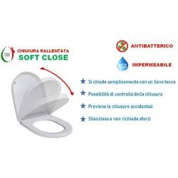 Copriwater D-Code Duravit termoindurente bianco Soft Close Originale