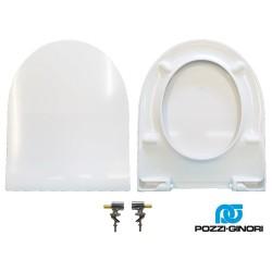 Copriwater Fast Slim Pozzi Ginori termoindurente bianco Soft Close Originale