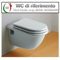 copy of Copriwater Paestum Globo legno rivestito in resina poliestere bianco