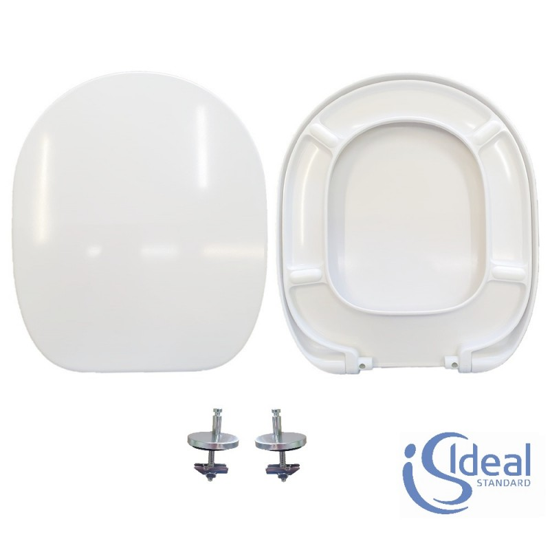 Copriwater Connect Ideal Standard termoindurente bianco Originale