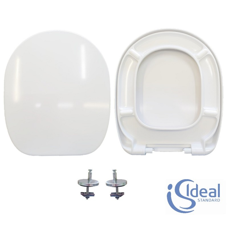 Copriwater Connect Ideal Standard termoindurente bianco Soft Close Originale