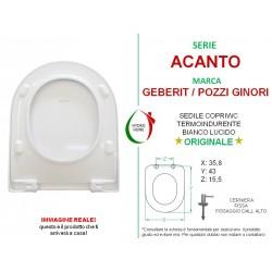 copy of Copriwater Q3 Pozzi Ginori termoindurente bianco Originale