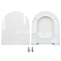 copy of Copriwater Starck 3 Duravit termoindurente bianco Soft Close Originale