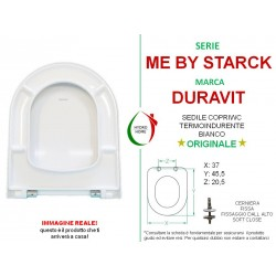 copy of Copriwater Starck 3 Duravit termoindurente bianco Soft Close Originale