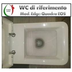 copy of Copriwater Mistral Eos legno rivestito in resina poliestere bianco