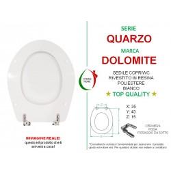 copy of Copriwater Join Corto Pozzi Ginori legno rivestito in resina poliestere bianco