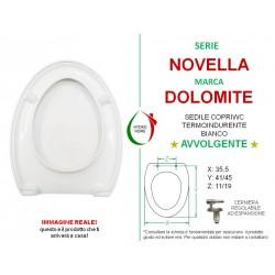 copy of Copriwater Dahlia Dolomite termoindurente avvolgente bianco