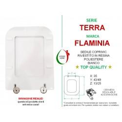 copy of Copriwater Lei Globo legno rivestito in resina poliestere bianco