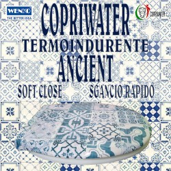 Copriwater Universale Ancient termoindurente Soft Close Sgancio Rapido