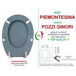 copy of Copriwater Conca Ideal Standard legno rivestito in resina poliestere Blu Fondale