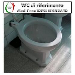 copy of Copriwater Polo Roca termoindurente bianco