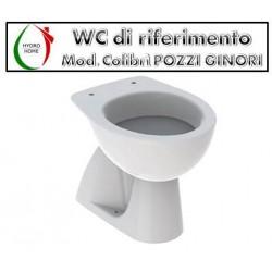 copy of Copriwater Piemonte Pozzi Ginori legno verniciato bianco Carrara & Matta