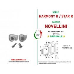 Ricambio Novellini Cuscinetti Star R anta DX 2 binari