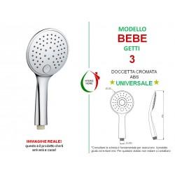 copy of Doccetta Button in ABS cromato 3 getti