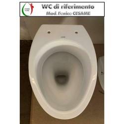 copy of Copriwater Quadrarco 2 Dolomite legno verniciato bianco Carrara & Matta