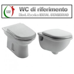 copy of Copriwater Clodia Dolomite termoindurente bianco Soft Close