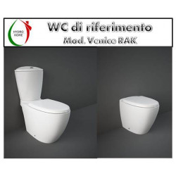 copy of Copriwater Me By Starck Duravit termoindurente bianco Originale