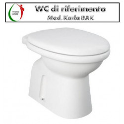 copy of Copriwater One Rak termoindurente bianco Originale
