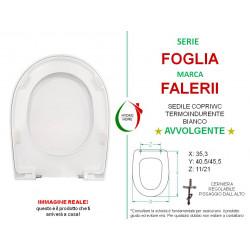 copy of Copriwater Nori Flaminia termoindurente avvolgente bianco