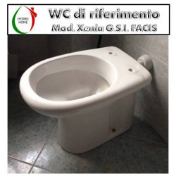 copy of Copriwater Sfera Cesabo termoindurente avvolgente bianco