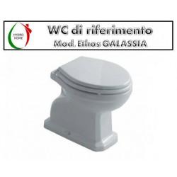 copy of Copriwater Easy Cielo termoindurente avvolgente bianco
