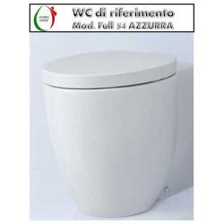 copy of Copriwater Full 48 Azzurra termoindurente bianco Soft Close