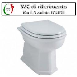 copy of Copriwater Io Vavid legno rivestito in resina poliestere bianco