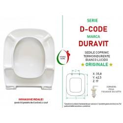 Copriwater D-Code Duravit termoindurente bianco Originale