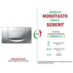 copy of Piastra di azionamento Bianca 200F mono tasto Geberit