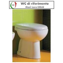 copy of Copriwater Losanga GSI termoindurente avvolgente bianco