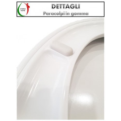 copy of Copriwater Starck 3 Duravit termoindurente avvolgente bianco