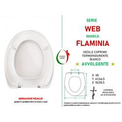 copy of Copriwater Lara Cielo termoindurente avvolgente bianco