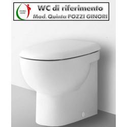 copy of Copriwater Easy Pozzi Ginori termoindurente bianco Originale