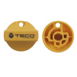 copy of Placca di copertura valvola Gas Teco K2 Cromo