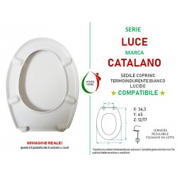 copy of Copriwater Ellisse Ideal Standard termoindurente bianco come originale